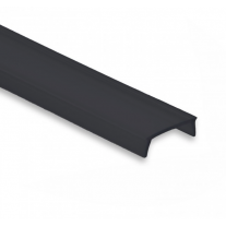 Abdeckung C22 PL1 / PL2 / PL3 /PL7 / PL8 2 Meter Schwarz/Matt