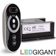 Dimmer Set Wireless Touch Dimmer inkl. Fernbedienung für LED Streifen 12-24V