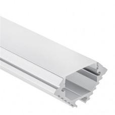 PL11 Theemin Aluminium Profil f. LED Streifen 2m + Abdeckung Opal