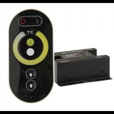 Dimmer Set Wireless Touch Dimmer inkl. Fernbedienung für LED Streifen 12-24V Weißdynamisch KW-WW