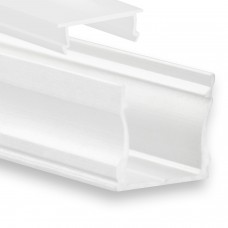 P22 Ran LED Aluminium Profil inkl. Abdeckung Opal Profilbündig Weiß