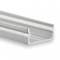 P21 Naos LED Aluminium Profil inkl. Abdeckung Opal/Klar/Schwarz Profilbündig