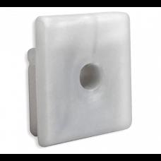 P8 Kocab H2O Silikon Endkappe mit Kabelausgang