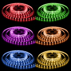 LED Nano Streifen RGB-WW 300 LED 5 Meter 95 Watt 4250 Lumen 24V IP68