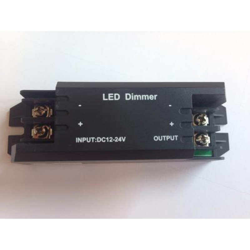 dimmer 12 24v 8a f r led streifen mit fernbedienung controller. Black Bedroom Furniture Sets. Home Design Ideas